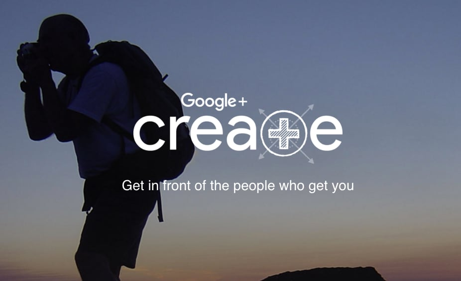 google plus create