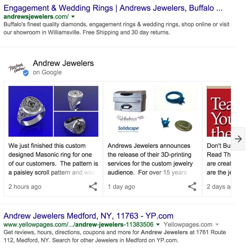 Google testa nuovi contenuti curati nei risultati di ricerca