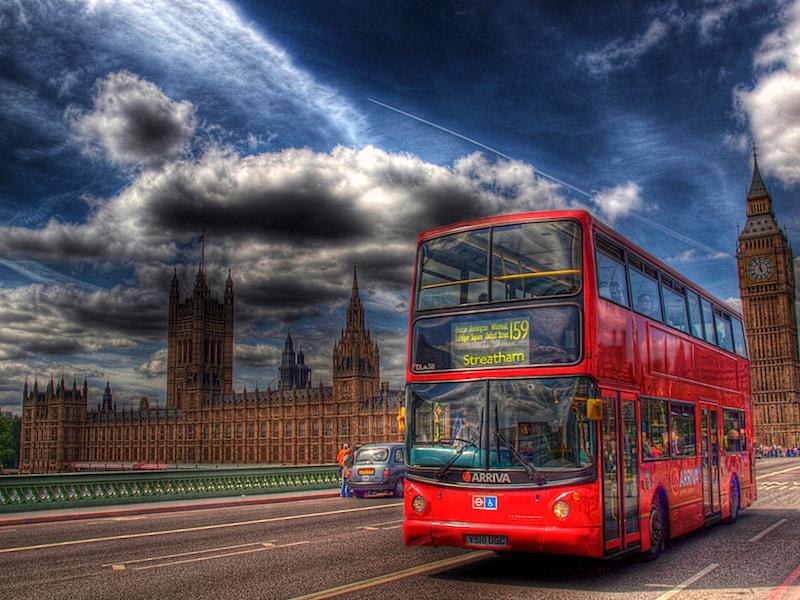 londra bus beacon bluetooth google