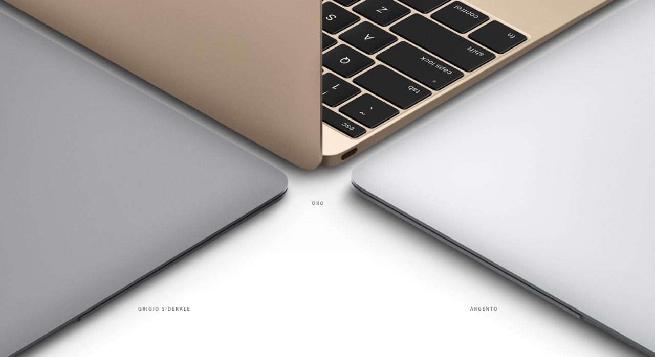 """MacBook 12"""" inizio 2016 """"confermato"""" da Apple, forse già ad aprile (foto)"""