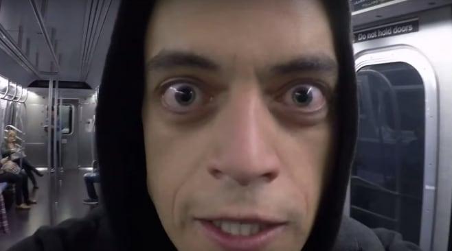 mr. robot occhi