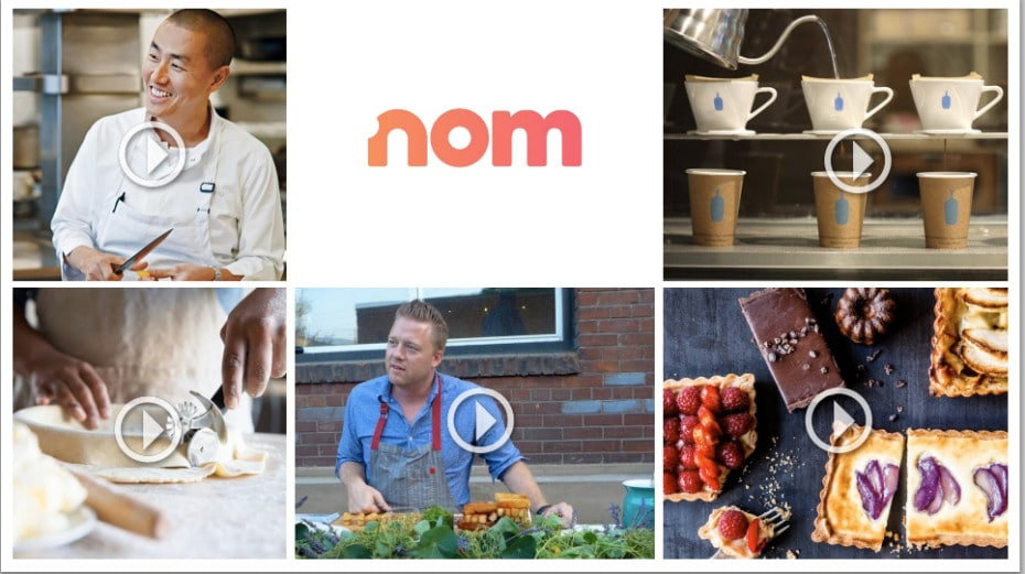 nom servizio streaming cucina