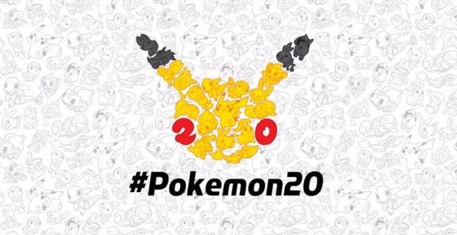 Pokémon 20 anni