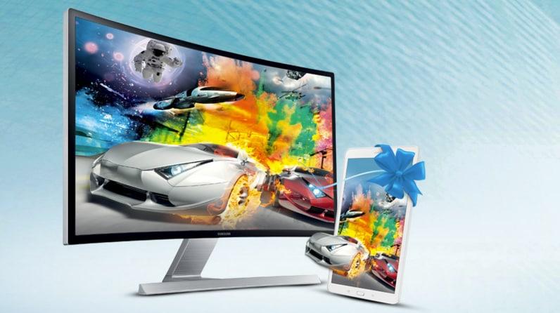 promozione samsung monitor curvi