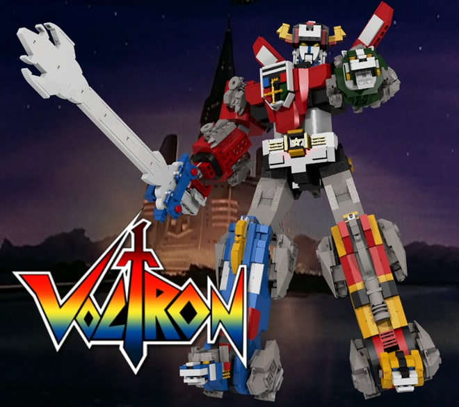 Il Set LEGO di Voltron è quello che dovete votare su LEGO Ideas!