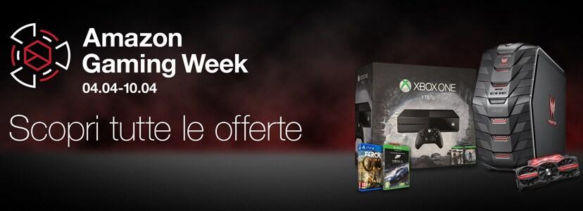 Amazon Gaming Week: le migliori offerte valide tutta la settimana (4-10 aprile)
