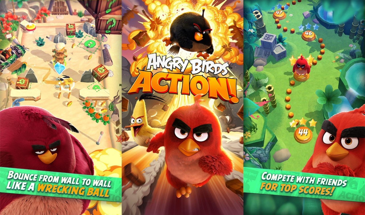 Angry Birds Action! Copertina