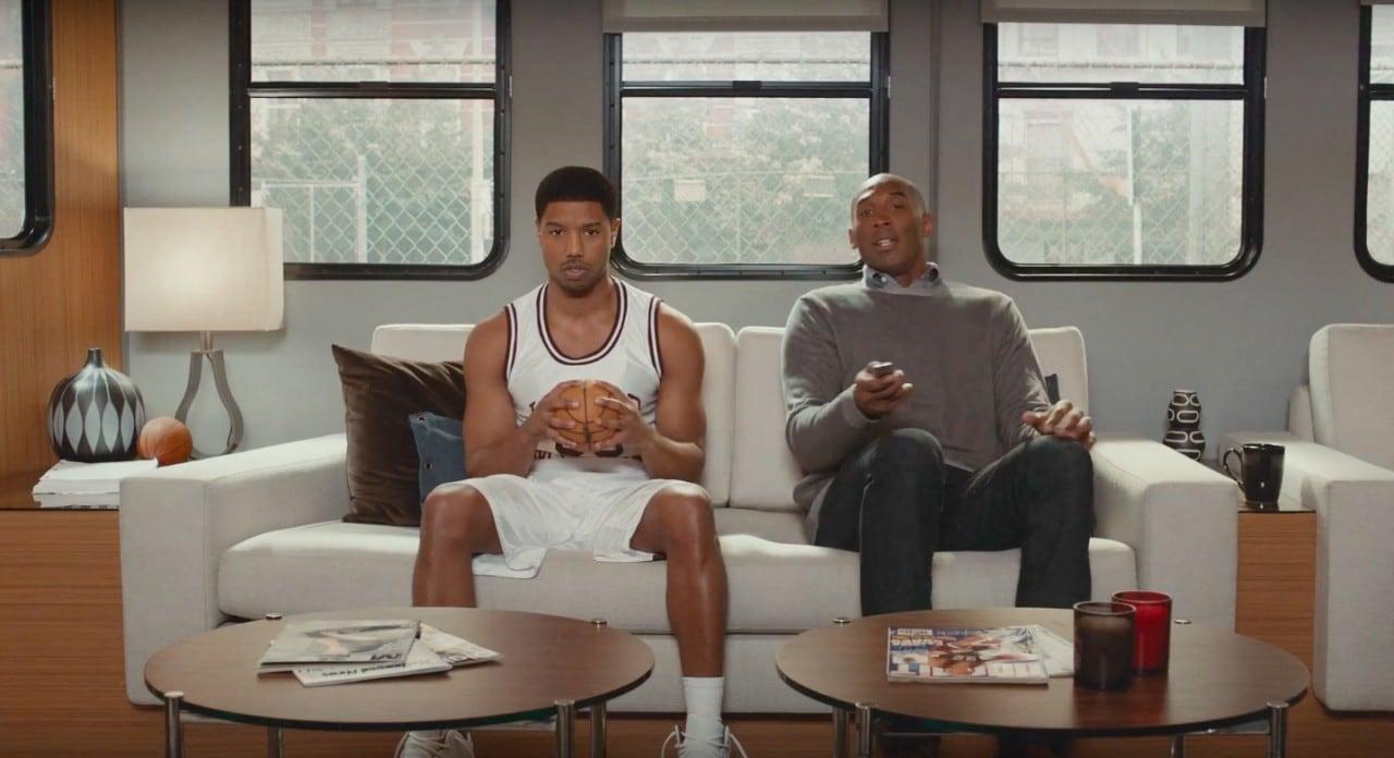 Kobe Bryant e Michael B. Jordan pubblicizzano Apple TV (video)