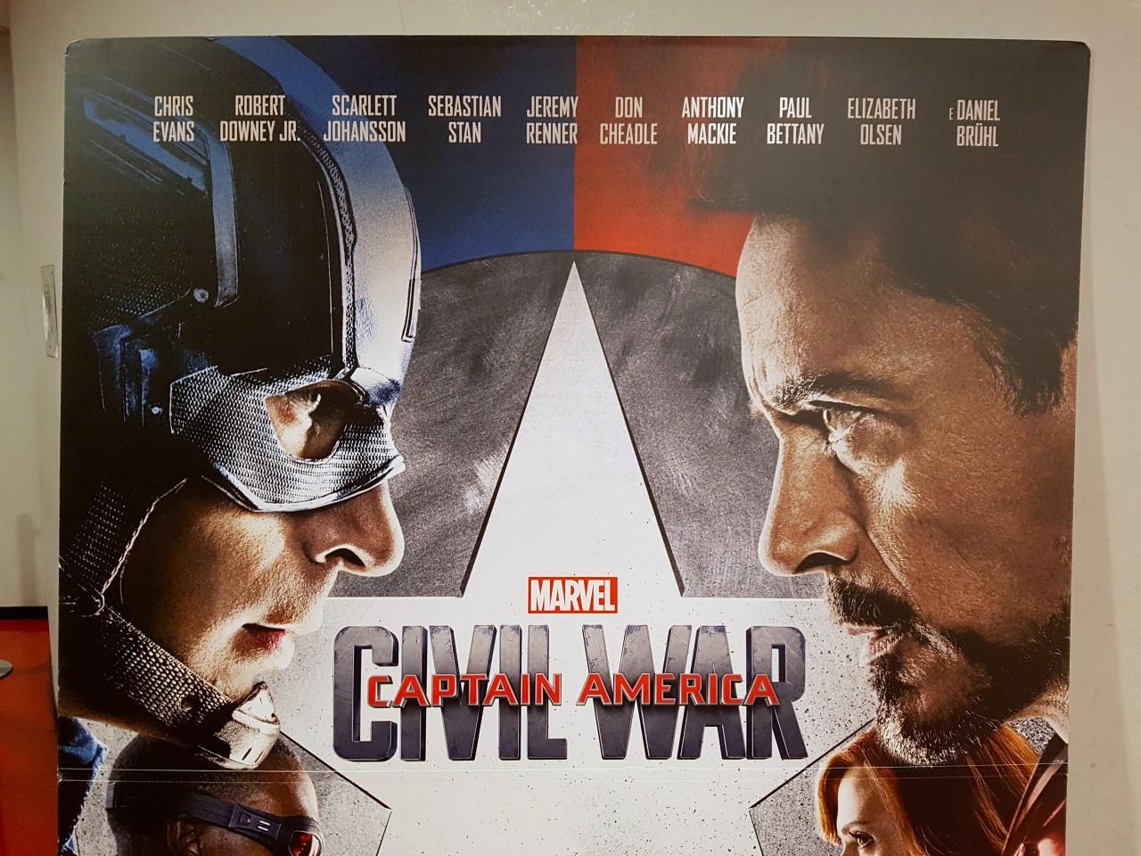 Captain America Civil War Anteprima
