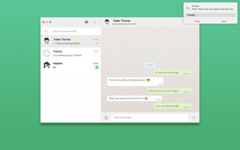 FreeChat for WhatsApp: un client nativo per Mac per la nota app di messaggistica