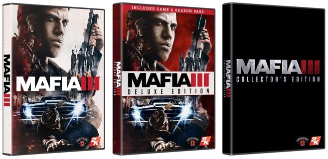 Mafia III Box Art