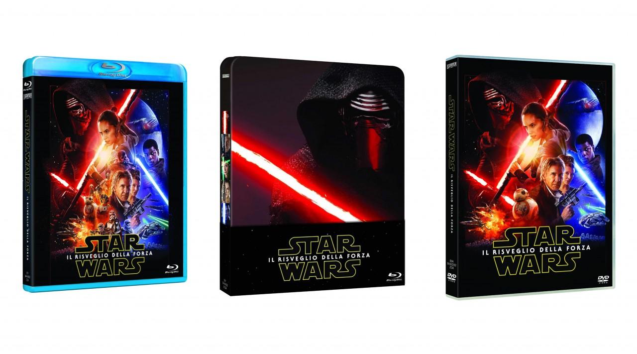 Star Wars: Il Risveglio della Forza in Blu-ray e DVD già disponibili con consegna il 13 aprile