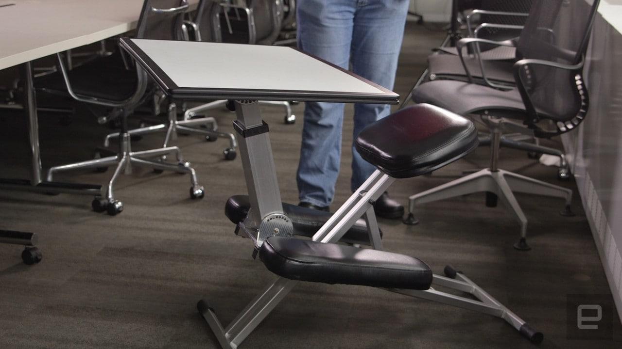 The Edge, una versatile scrivania ripiegabile su Kickstarter (foto e video)