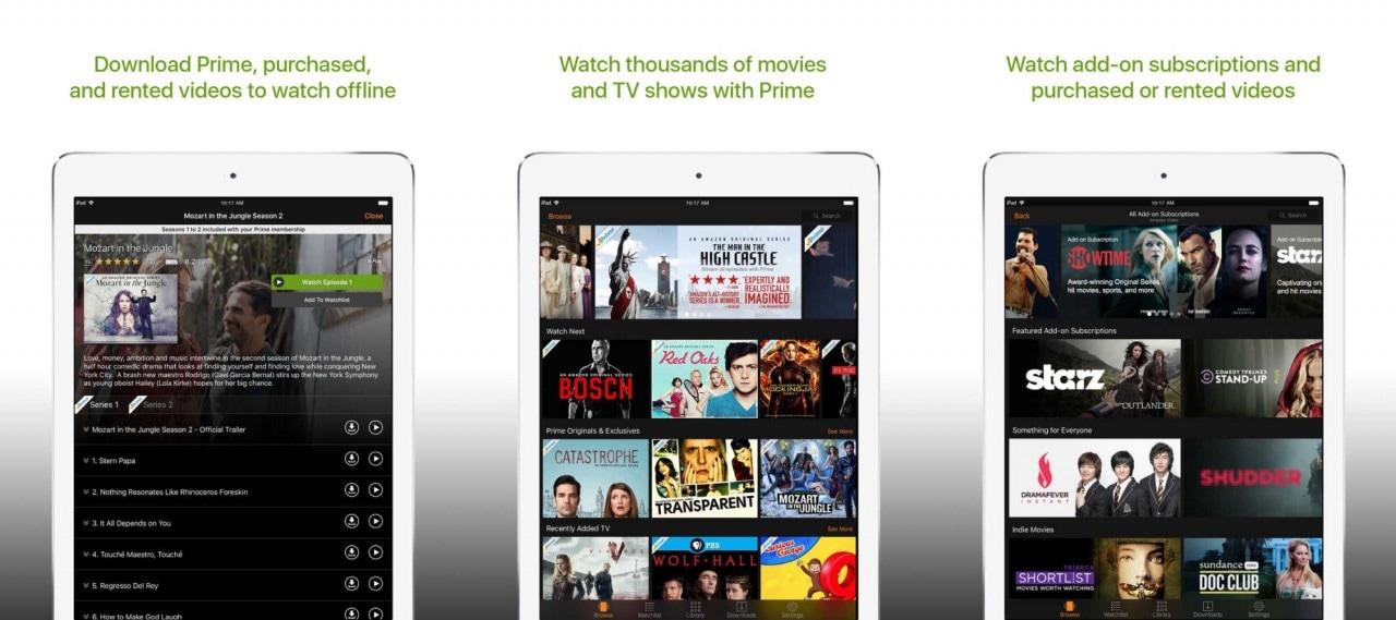 Amazon rilancia la sfida a Netflix con Prime Video a 8,99$ al mese