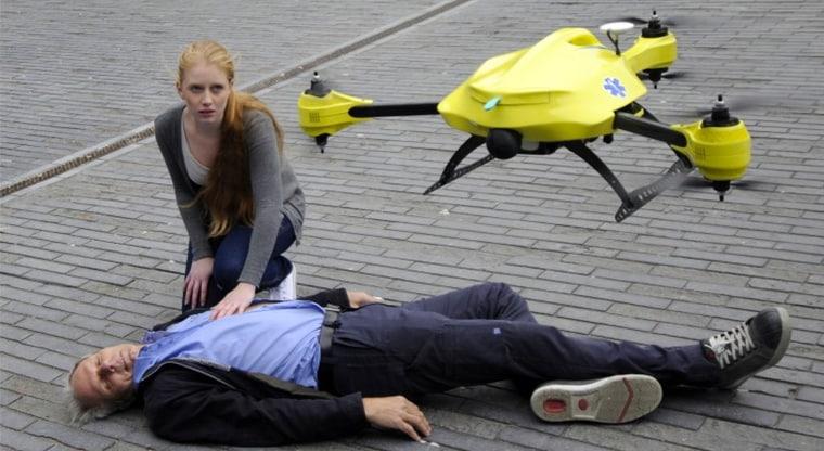 Il brevetto di Google per droni dottore ci mostra il futuro del primo soccorso