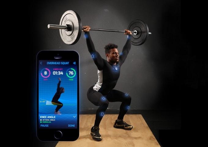 Questa tuta smart mappa il vostro corpo in 3D per migliorare gli allenamenti (video)