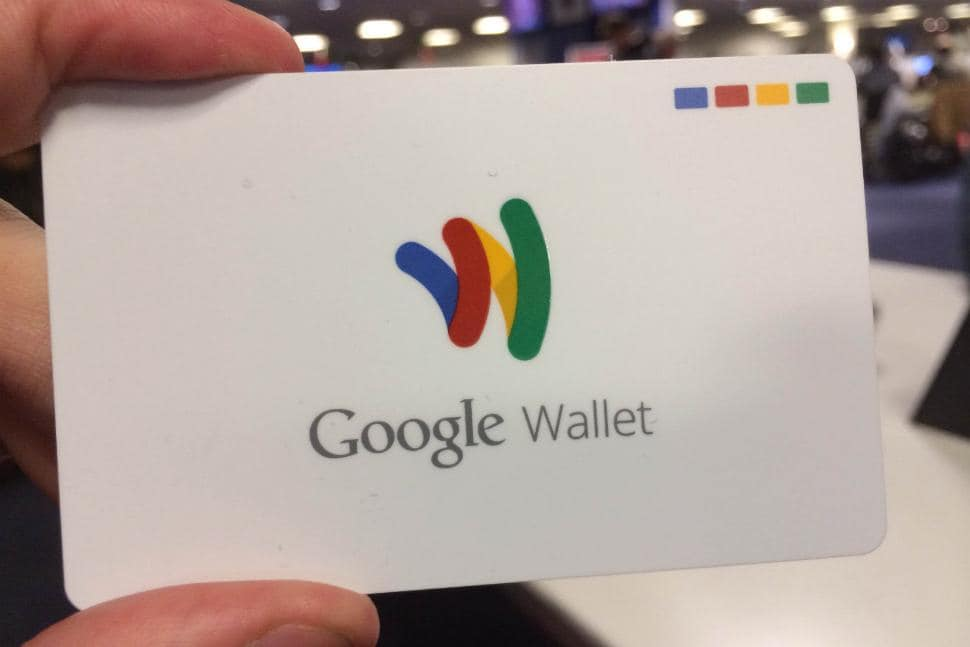 gogole wallet card