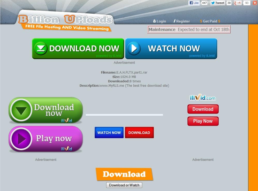 google contro pulsanti download falsi