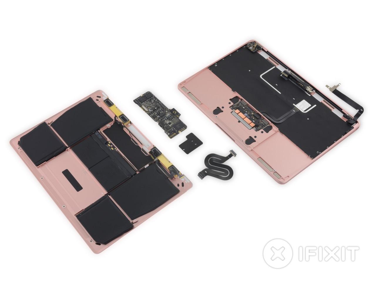 """Non c'è troppo di nuovo sotto la scocca (o)rosa del nuovo MacBook da 12"""" (foto)"""