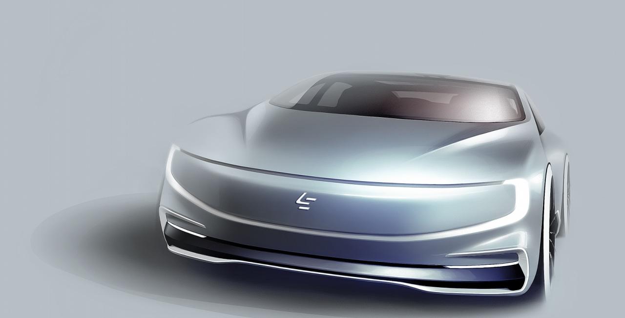LeEco vuole partecipare alla gara per le auto a guida autonoma con questo futuristico concept (foto)