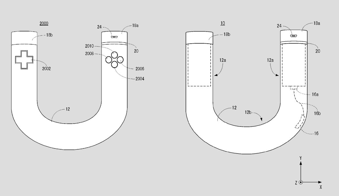 Nintendo ha brevettato uno strano controller a forma di U (foto)