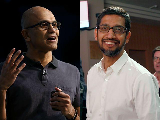 satya-sundar tregua legale microsoft google