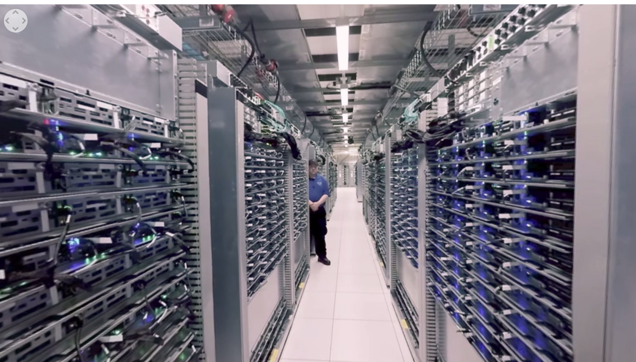 tour data center google