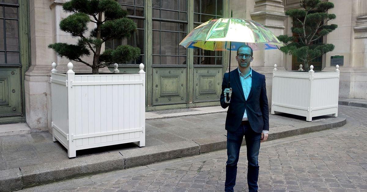 Oombrella: lo smart ombrello che tutti vorrebbero (Video)