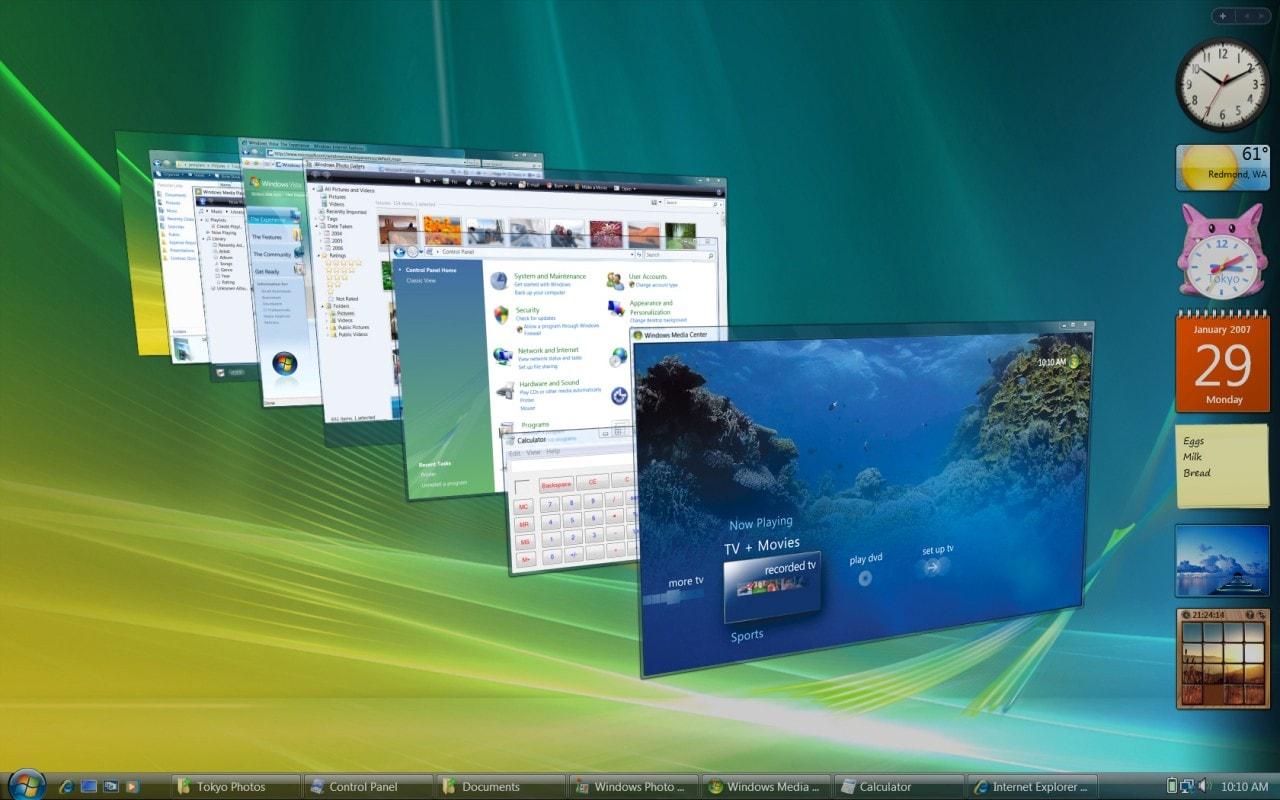 Abbandono Windows Vista: Microsoft avvia il conto alla rovescia