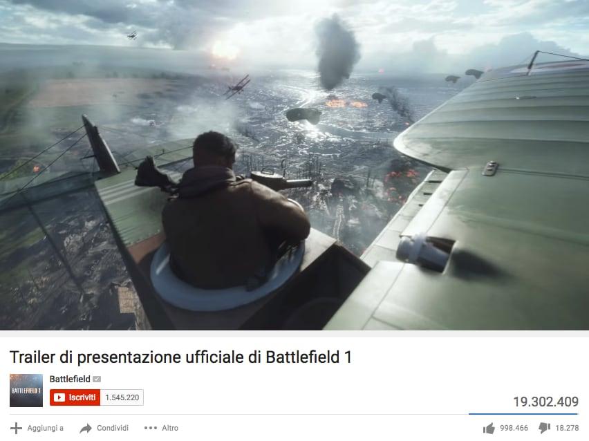 Battlefield 1 YouTube