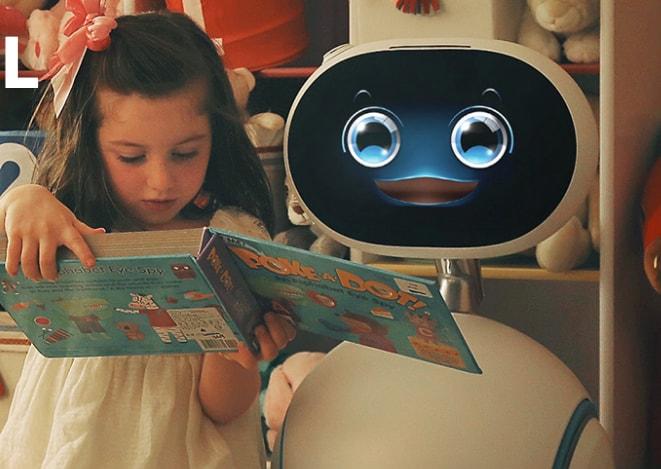 ASUS Zenbo: il robottino assistente smart che vi segue costa 599$ (foto e  video)