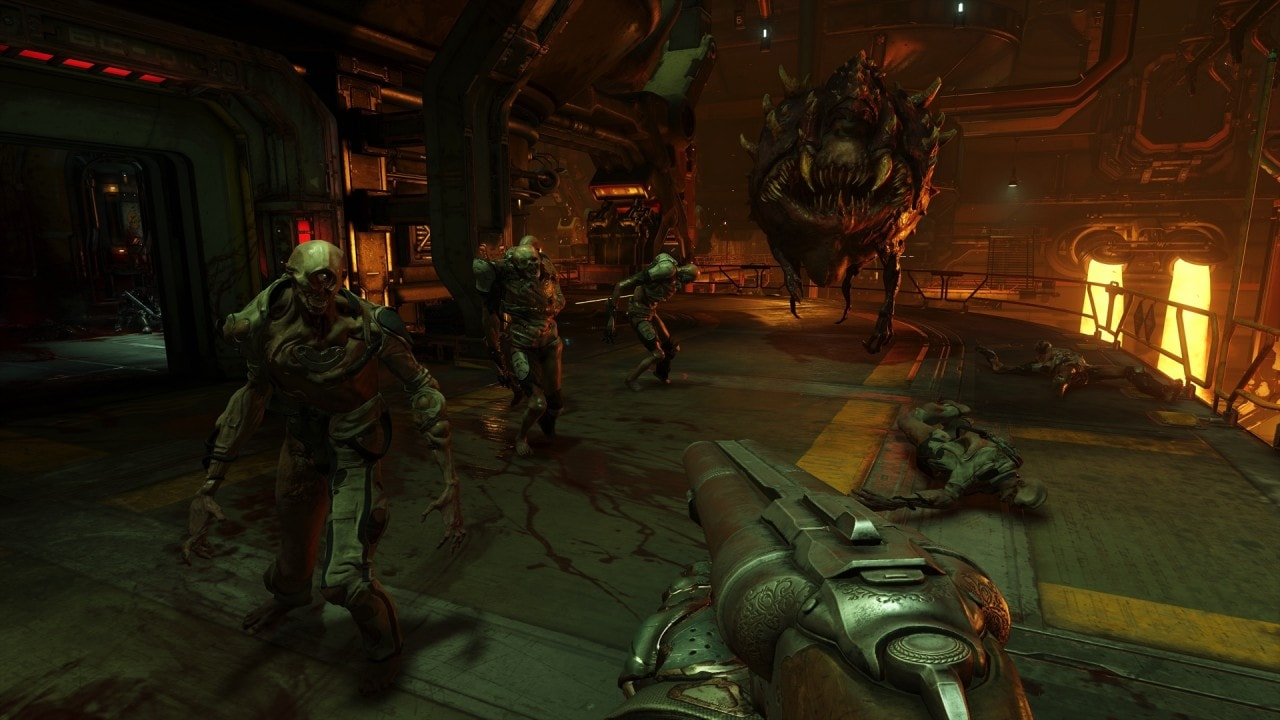 DOOM Screenshot - 1