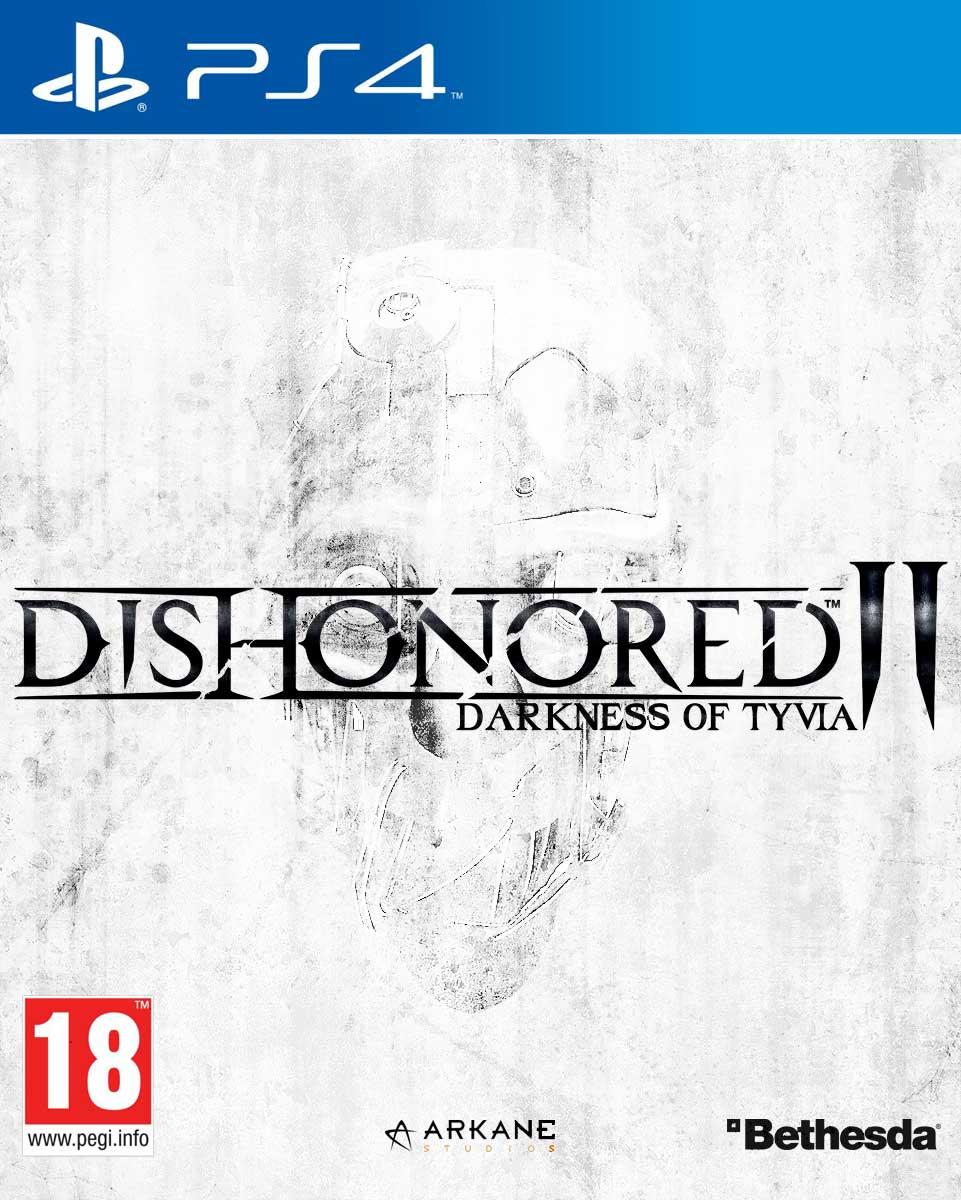 Dishonored 2 Copertina PS4