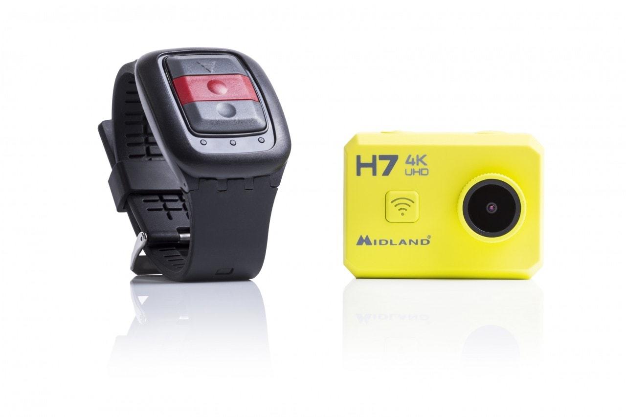 Midland presenta H7, la nuova action cam ultra HD 4K (foto)