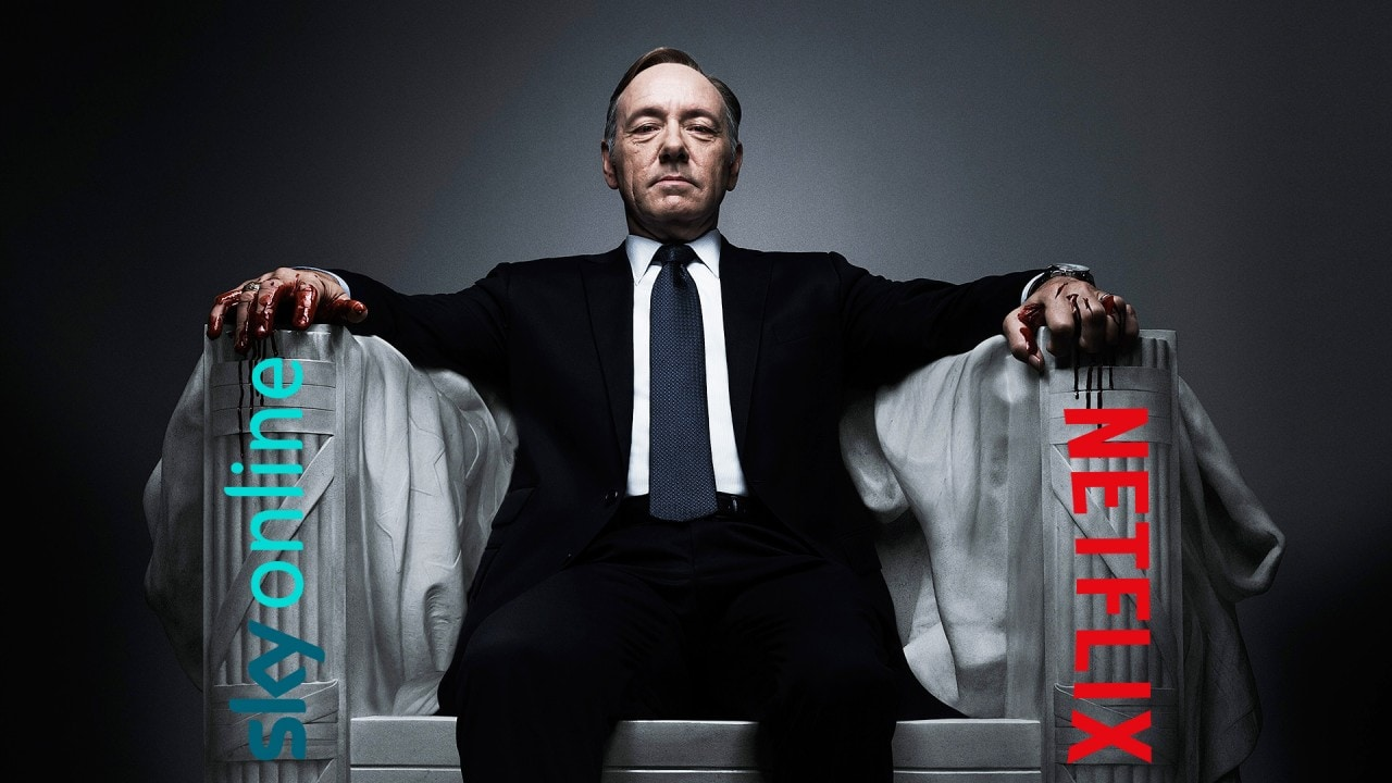 House of Cards Netflix copia