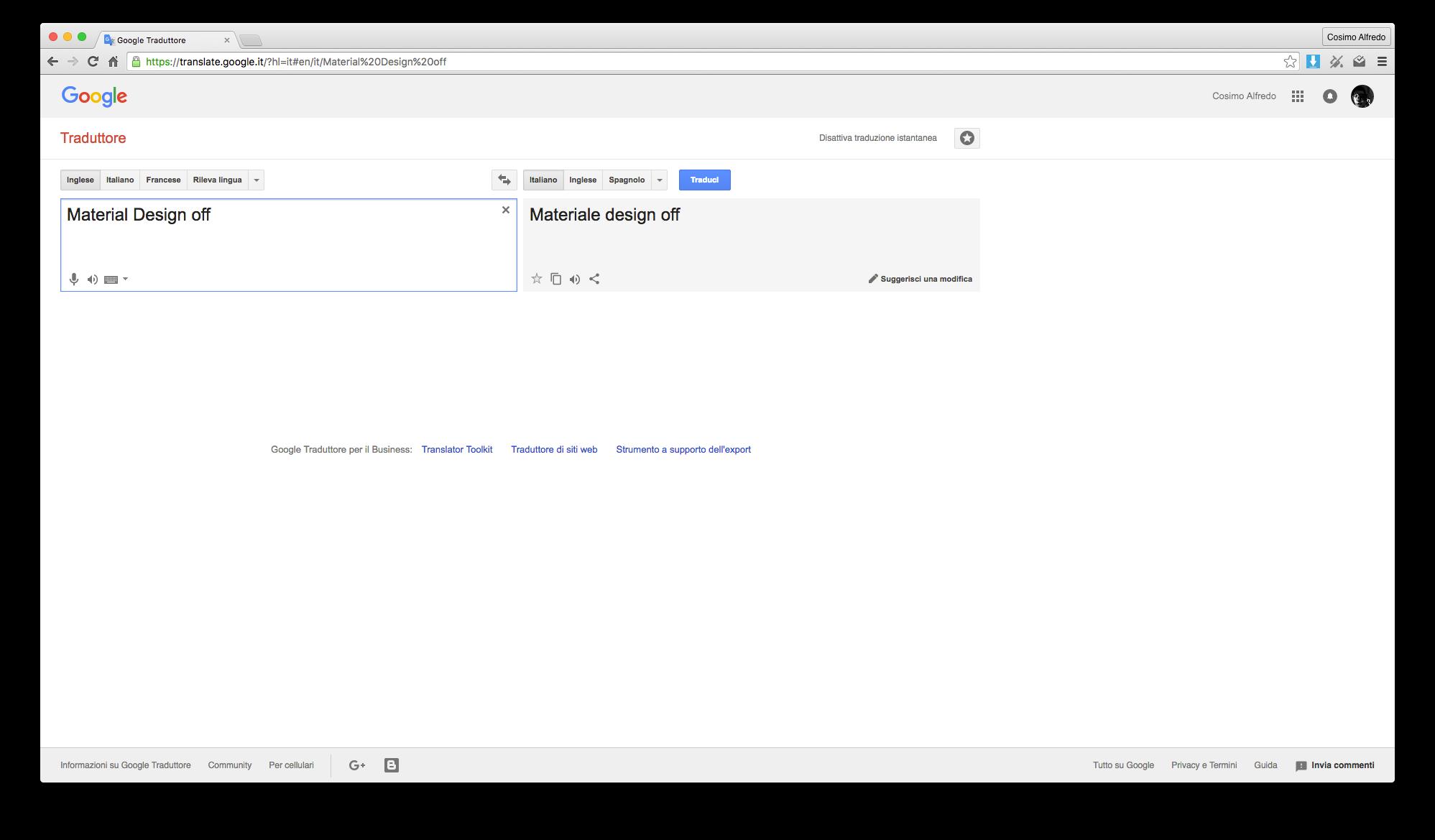 Ink for Google material design siti google estensione chrome_1