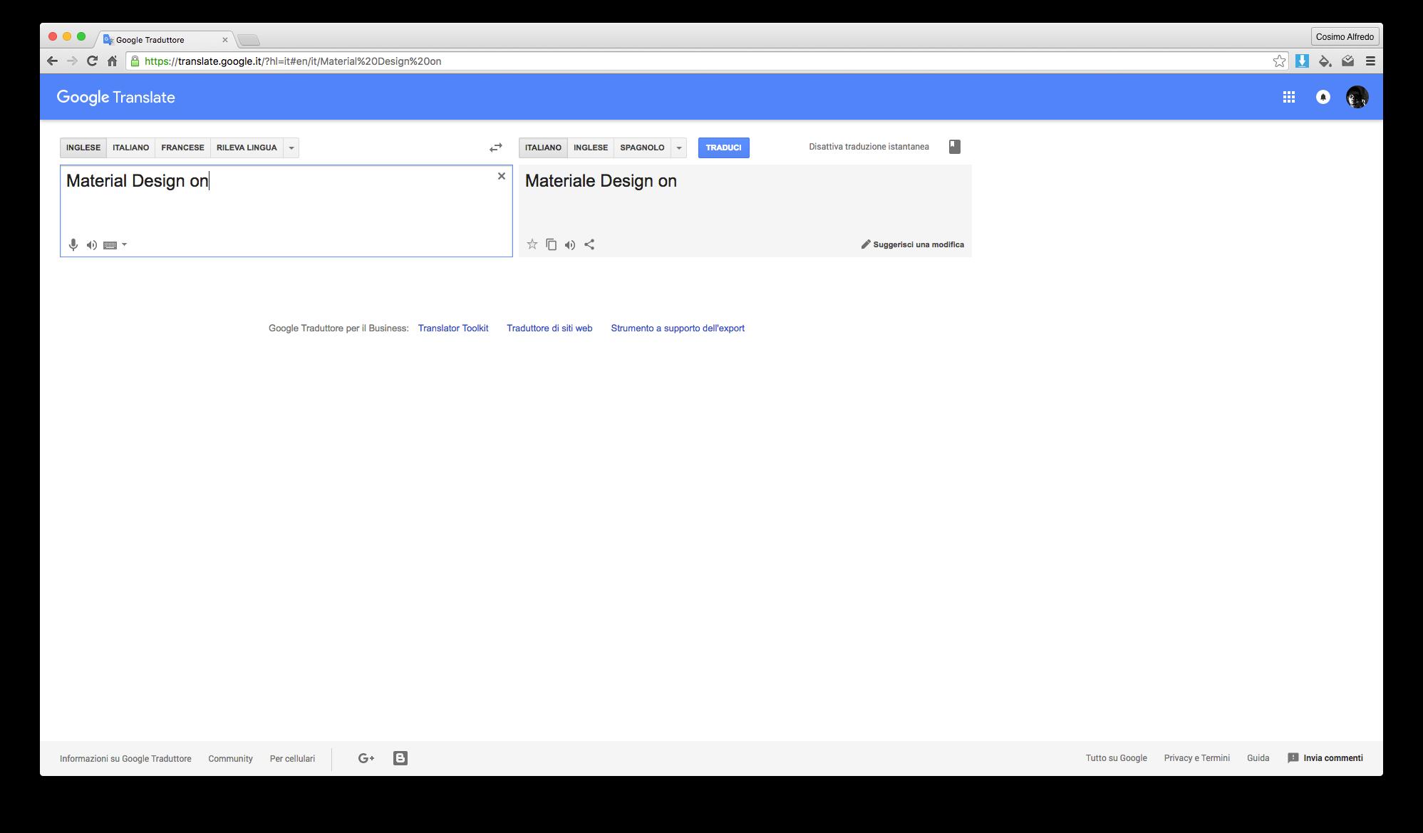 Ink for Google material design siti google estensione chrome_2