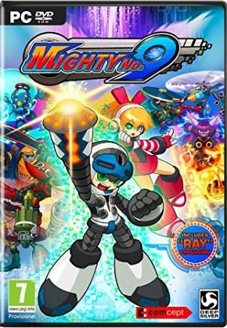 Mighty no 9 box art pc