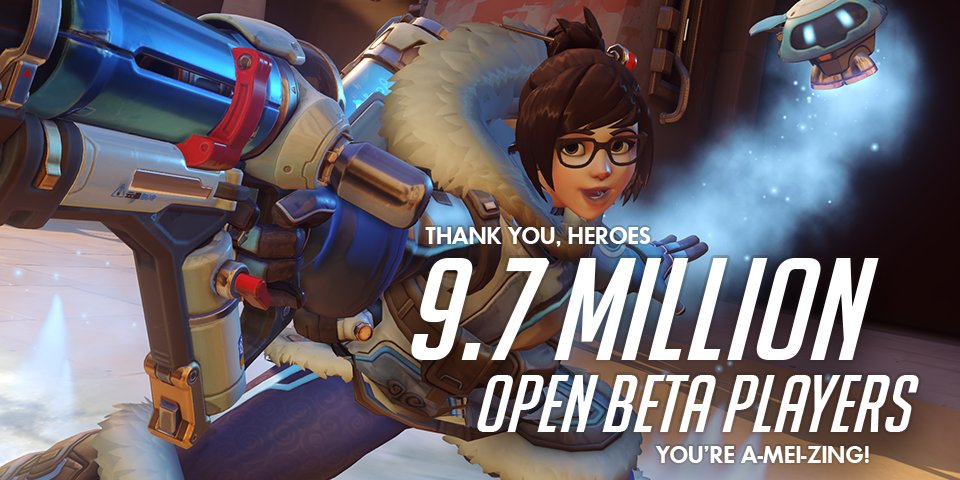 Overwatch 10 milioni download