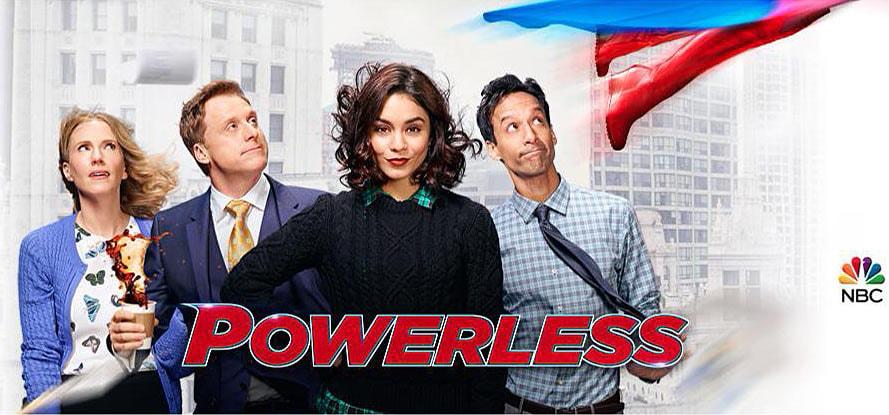 Prime immagini dalla serie tv Powerless, dedicata alle persone danneggiate dai supereroi (foto)