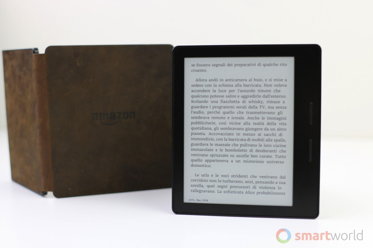 Recensione Amazon Kindle Oasis 3G - 12