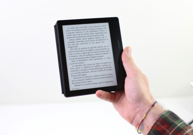 Recensione Amazon Kindle Oasis 3G - 17