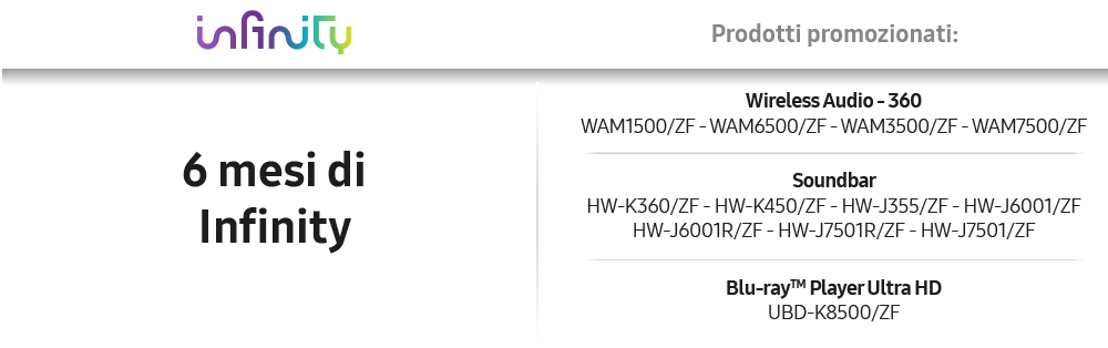 Samsung Audio Dream Pack 2016 infinity