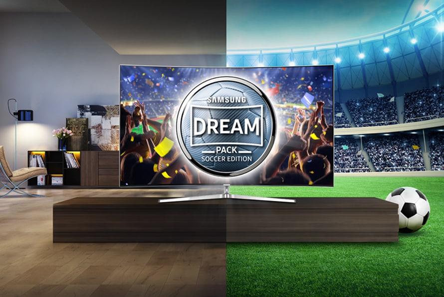 Samsung regala gli Europei da satellite (e non solo) con i suoi smart TV