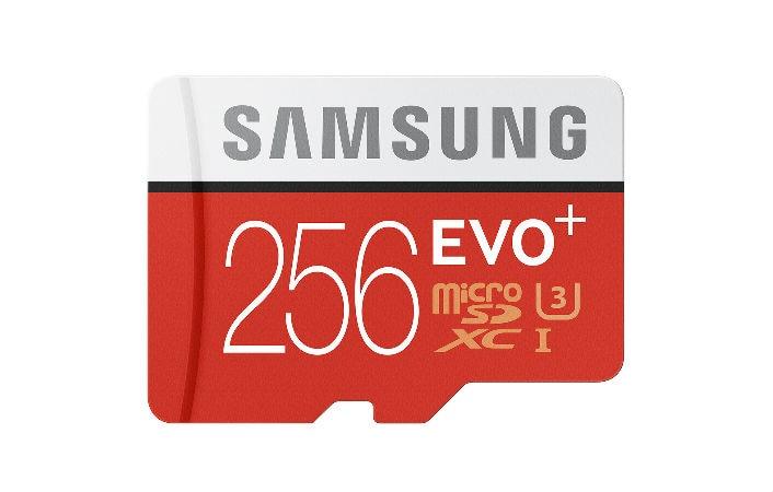 Samsung lancia nuove microSD EVO Plus: 256 GB dedicati a 4K e 360°