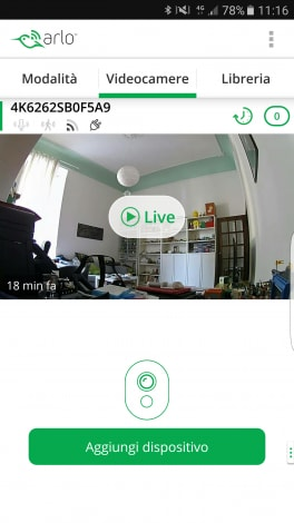 Screenshot Netgear Arlo Q 01