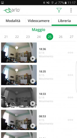 Screenshot Netgear Arlo Q 03