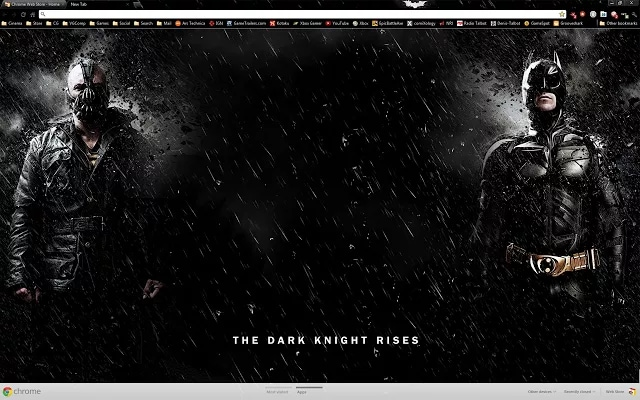 Tema Batman Chrome