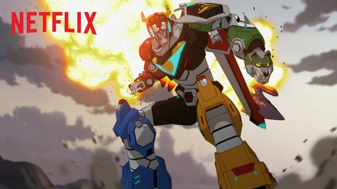 Trailer Voltron Netflix