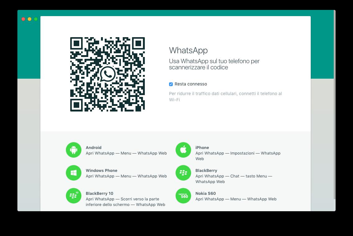 WhatsApp Windows Mac screenshot - 1